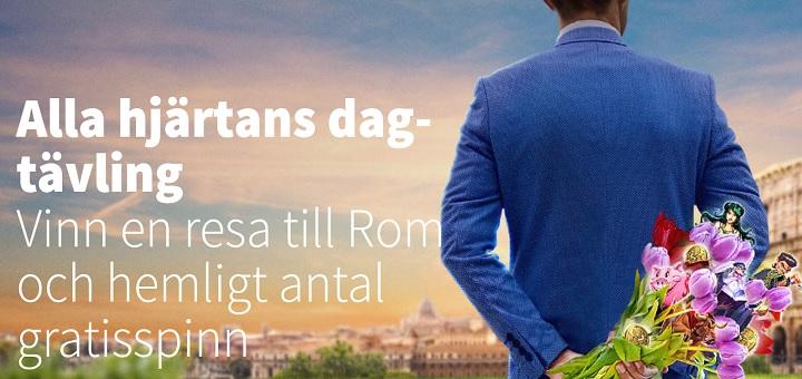 Betsson Alla hjärtans dag freespins kampanj 2017
