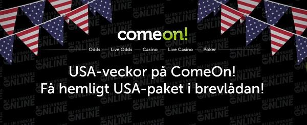 Unik bonus hos ComeOn