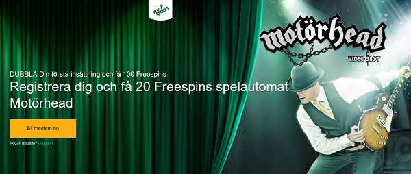 Unika free spins hos Mr Green