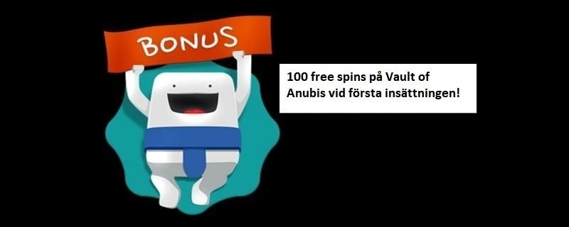 Casumo ger dig 100 free spins i välkomstobnus i oktober 2020