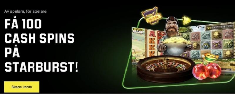 Casinobonusar med free spins hos Unibet oktober 2020