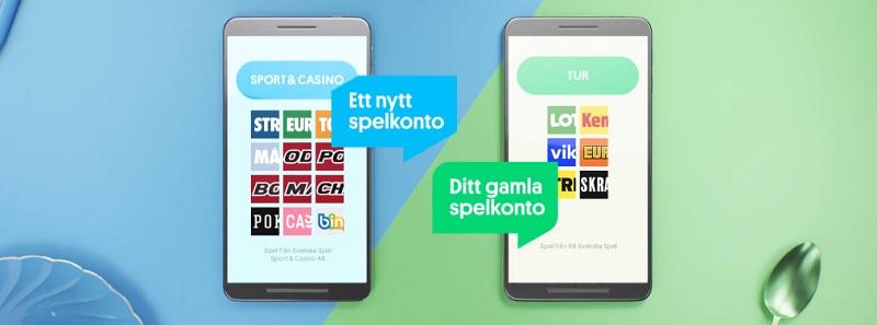 Nytt Casino hos Svenska Spel efter årsskiftet