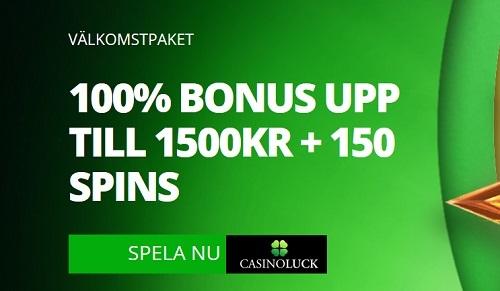 free spins hos CasinoLuck