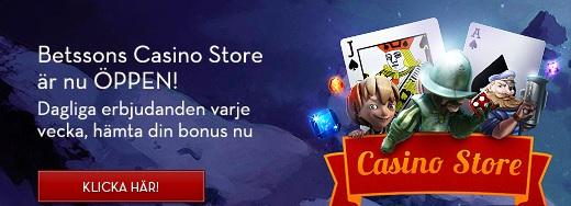 Betsson Casino Store free spins 3 Juni 2013
