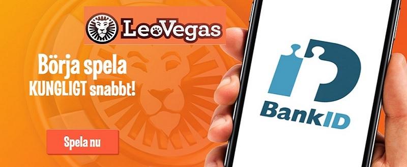 Spela på casino utan konto med bank-ID