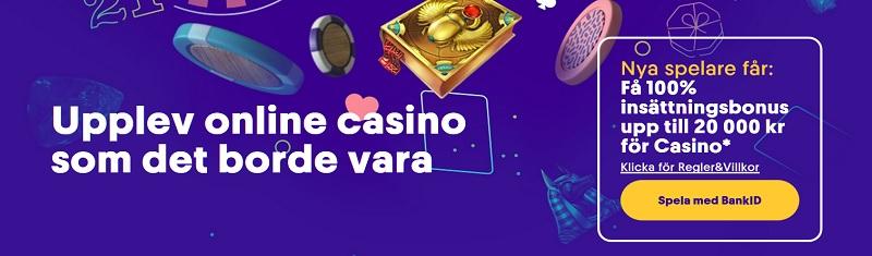 Casumo casinobonus 2020