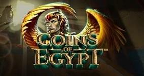 Nya spelautomaten Coins of Egypt