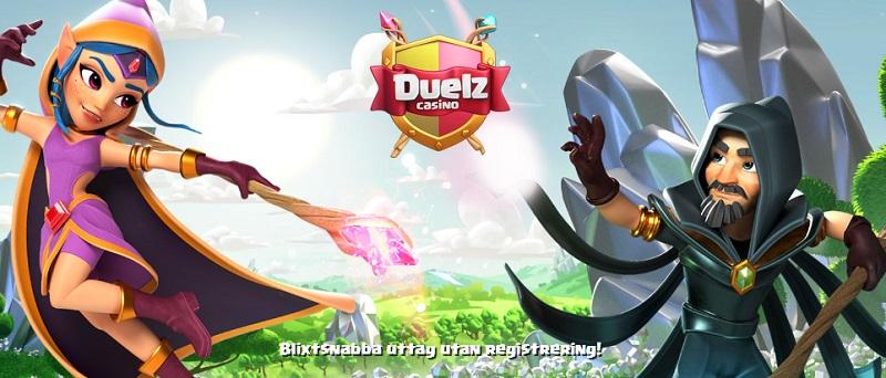 Duelz Casino med svensk spellicens