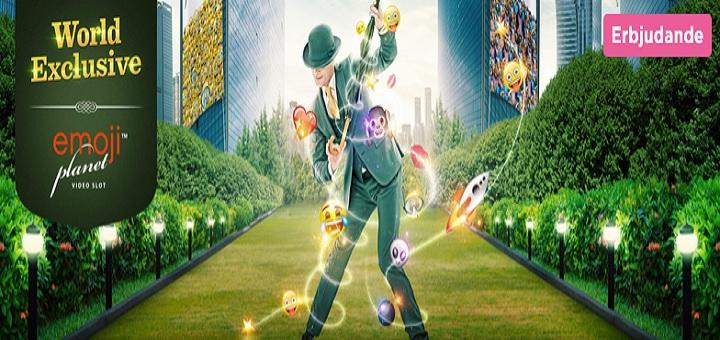 Free spins på EmojiPlanet hos Mr Green Casino