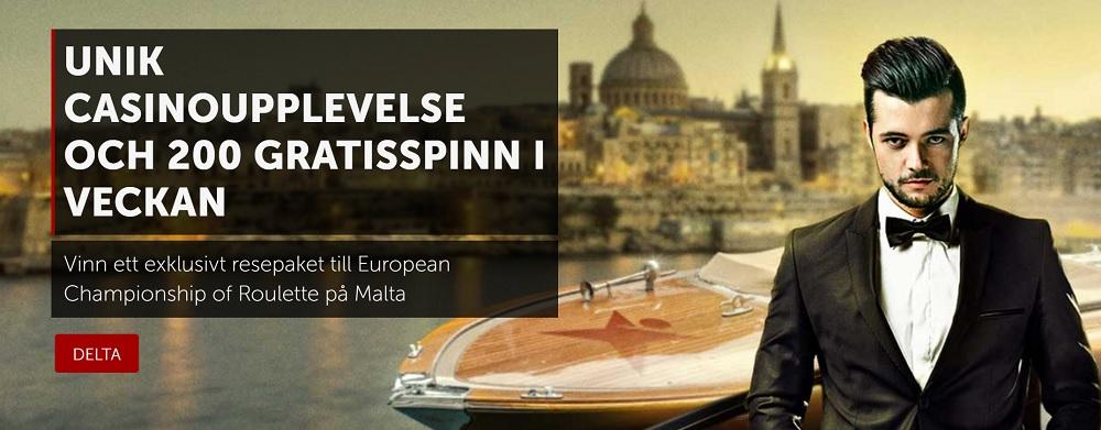 European Championship of Roulette på Malta 2018