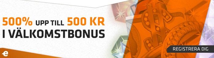 Expekt Casino Bonus ger dig 500% bonus