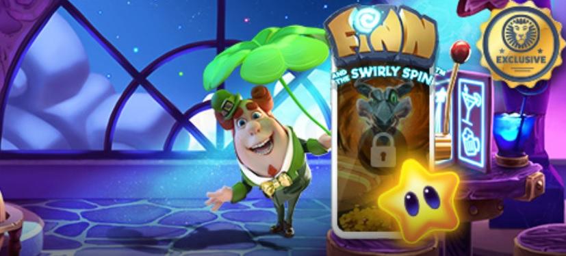 Spela Finn and the Swirly Spin hos LeoVegas