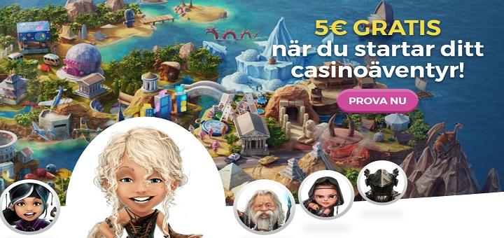 Casinobonusar och freespins November 2017