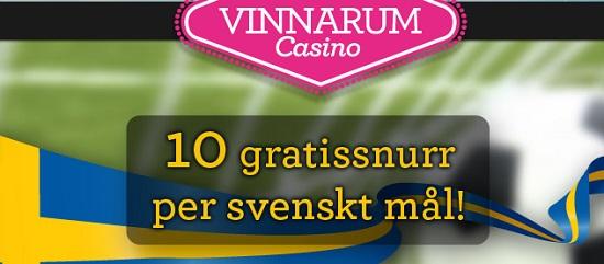 Vinnarum free spins 11 oktober 2013
