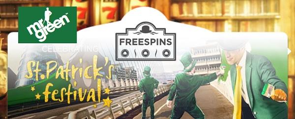 Free spins 14 mars 2016