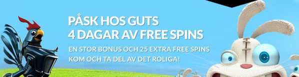 Free spins 16 April 2014