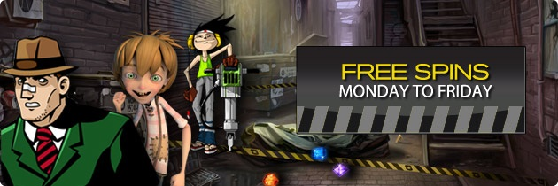 free spins 17 september 2013
