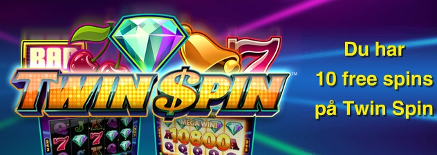 Twin Spin - Free spins 22 november 2013