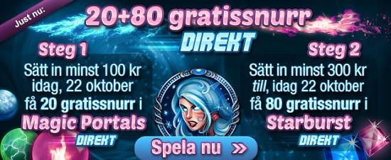 free spins 22 oktober 2013