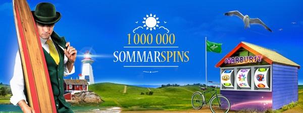 SlotsMillion - 1 000 kr i bonus + 100 free spins