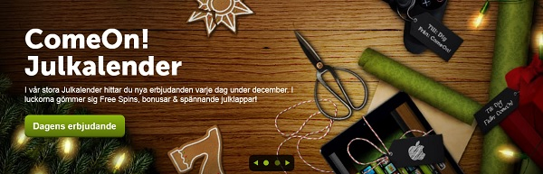 Free spins 25-30 December 2014