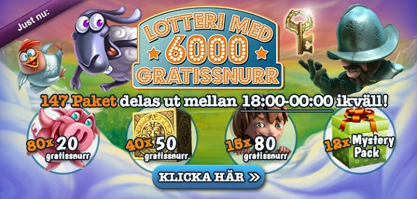 Free spins 29 april 2016