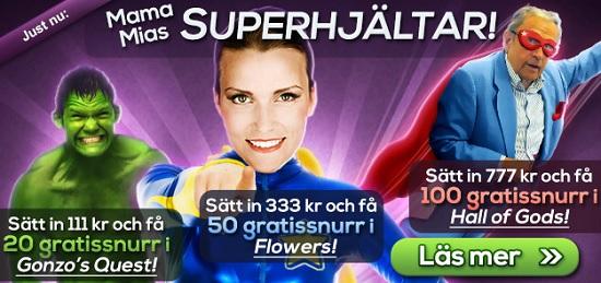 Free spins 1 januari 2014