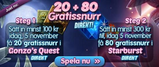 Casino Mamamia free spins 5 november 2013