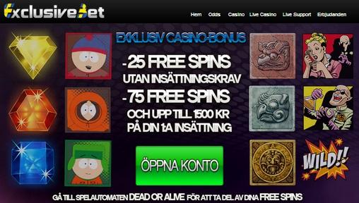 Free spins 5 september 2014