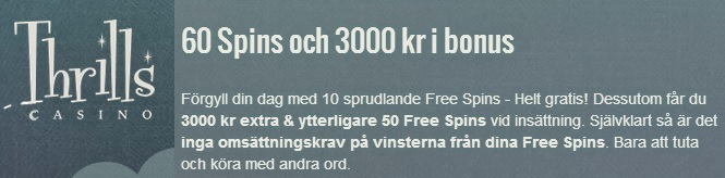 Casino free spins 7 maj 2014