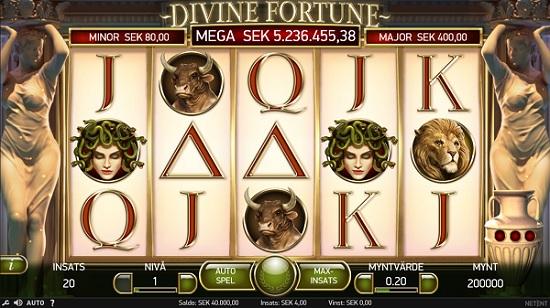 Free spins Divine Fortune