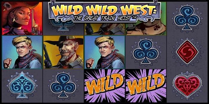 Free spins Wild Wild West - The Great Train Heist