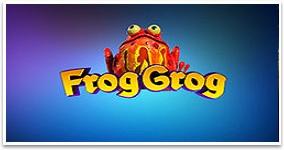 Ny spelautomat Frog Grog Thunderkick