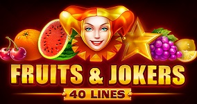 Nya spelautomaten Fruits and Jokers 40 lines