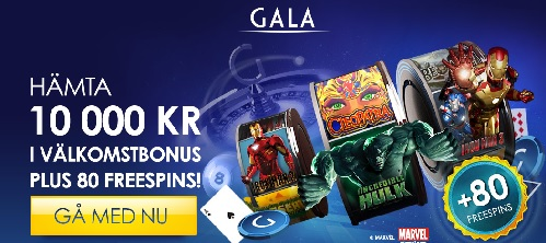 Gala casino free spins