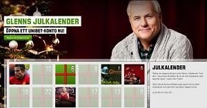Unibet Julkalender med free spins 11 december 2013