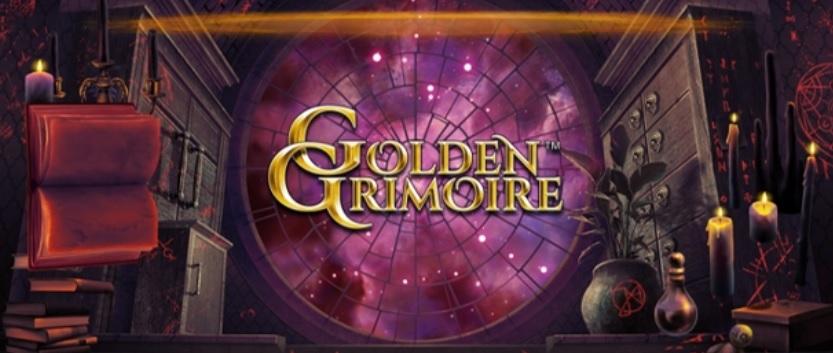 Spela NetEnt nya mobilcasino spelautomat Golden Grimoire