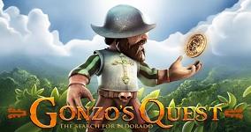 Spela gratis Gonzo's Quest spelautomat