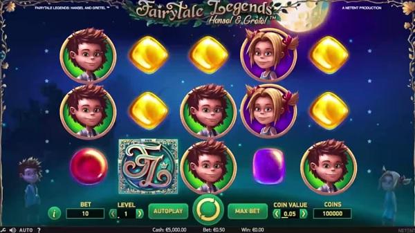 Nya spelautomaten Fairytale Legends Hansel & Gretel