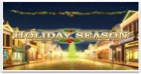 Ny spelautomat Holiday Season vecka 45 2016
