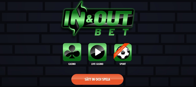 InAndOutBet är ett nytt casino i Sverige!