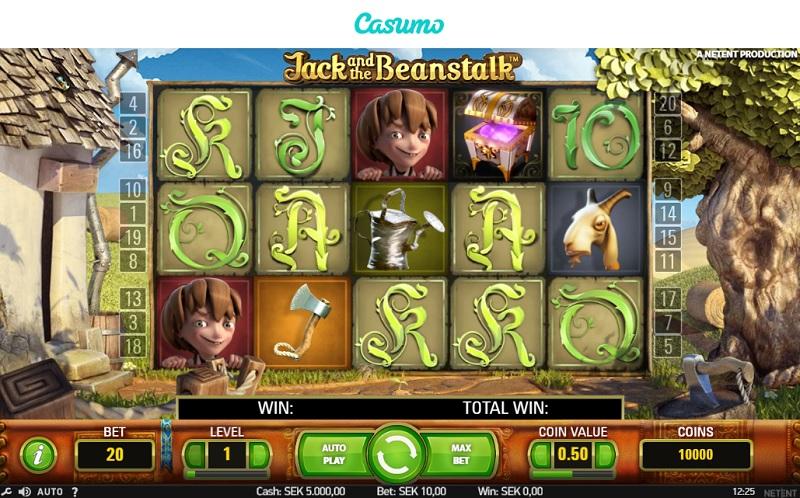 Jack and the Beanstalk hos Casumo