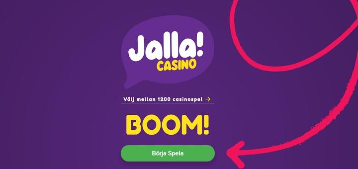 Jalla Casino - ett helt nytt onlinecasino!