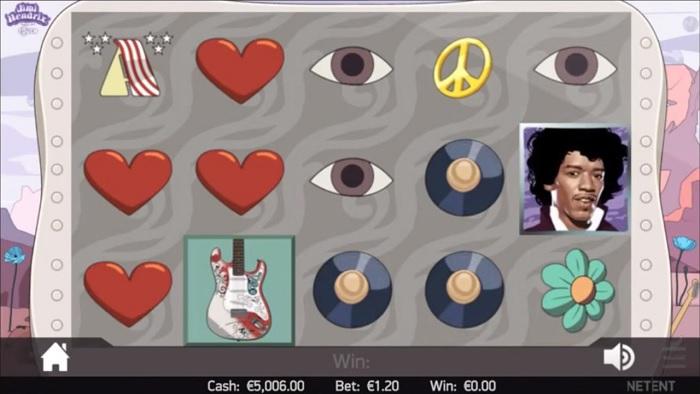 Jimi hendrix spelautomat spela gratis