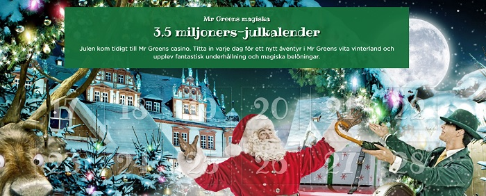 julkalendrar casino december 2016