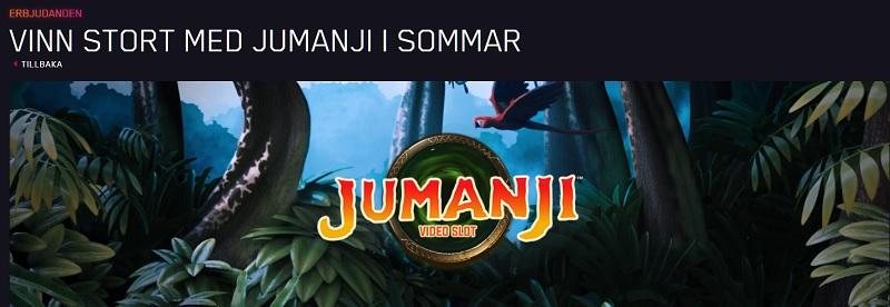 Vinn stort i Jumanji-turnering hos Maria Casino!