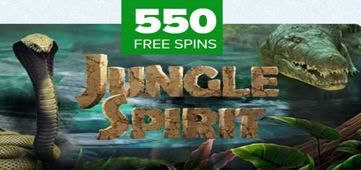 Free spins på nya NetEnt spelautomaten Jungle Spirit