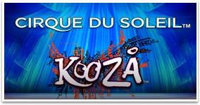 Ny spelautomat Kooza - Cirque du Soleil vecka 45 2016