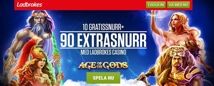 free spins hos Ladbrokes casino