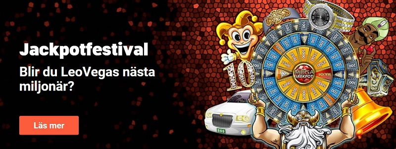 Dagliga free spins i LeoVegas Jackpotfestival!